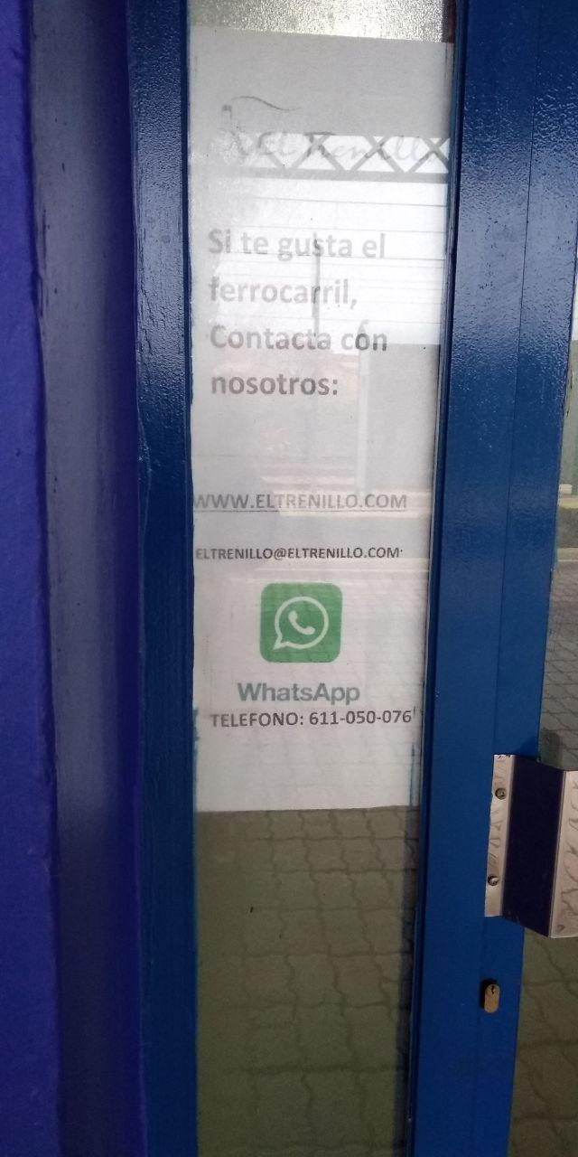 Y ahora,  ya con las nuevas tecnologías, nos puedes contactar por Wasapp, 611050076